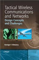 Tactical Wireless Communications and Networks PDF