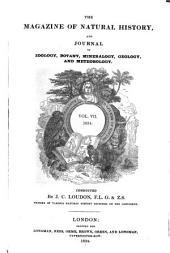 Magazine of Natural History: Volume 7