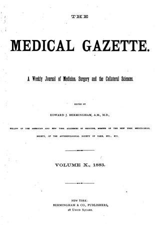 The Medical Gazette PDF