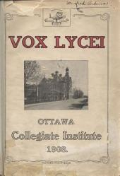 Vox Lycei 1907-1908