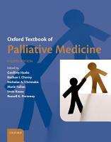 Oxford Textbook of Palliative Medicine PDF
