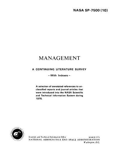 NASA SP 7500 PDF