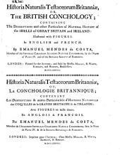 Historia naturalis Testaceorum Britanicae, or the British Conchology