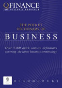 QFINANCE  The Pocket Dictionary of Business PDF