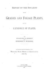 Grasses and Forage Plants /4cby C. E. Bessey and H. J. Webber