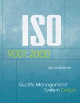ISO 9001 2000 Quality Management System Design PDF