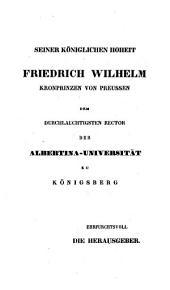 Immanuel Kant's Sammtliche Werke....