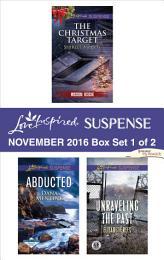 Harlequin Love Inspired Suspense November 2016 - Box Set 1 of 2
