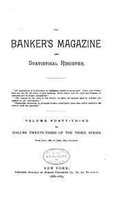 The Bankers Magazine: Volume 43