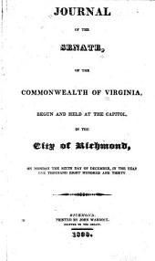 Journal of the Senate of Virginia