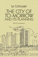 The City of To morrow and Its Planning PDF