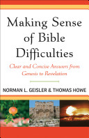 Making Sense of Bible Difficulties Book