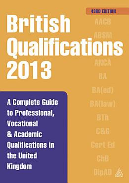British Qualifications 2013 PDF