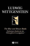 The Blue and Brown Books PDF