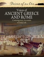 Voices of Ancient Greece and Rome PDF