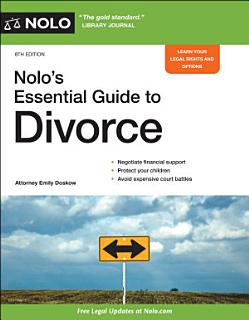 Nolo s Essential Guide to Divorce Book