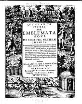 Atalanta fvgiens, hoc est: Emblemata nova de secretis naturæ chymica, accommodata partim oculis & intellectui, figuris cupro incisis, adjectisq́ue sententiis, epigrammatis & notis, partim auribus & recreation animi plus minus 50 fugis musicalibus trium vocum, quarum duæ ad unam simplicem melodiam distichis canendis peraptam, correspondeant