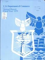 The Annual Report of the Secretary of Commerce PDF