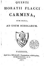 Carmina, cum notis, ad usum scholarum