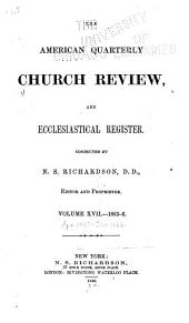 The Church Review ...: Volume 17