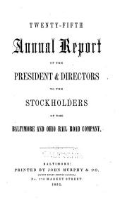 Annual Report: Volumes 25-27
