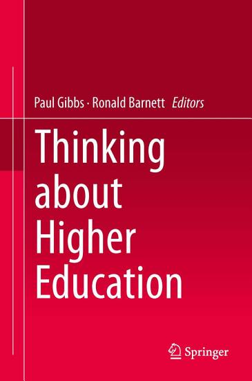 Thinking about Higher Education PDF