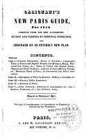Galignani s New Paris Guide  for 1852 PDF