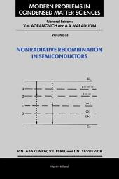 Nonradiative Recombination in Semiconductors