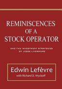 Reminiscences Of A Stock Operator Book PDF