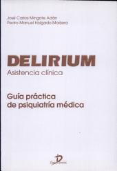 Delirium: asistencia clínica : guía práctica de psiquiatría médica