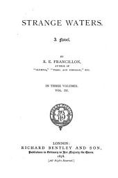Strange Waters: A Novel, Volume 3