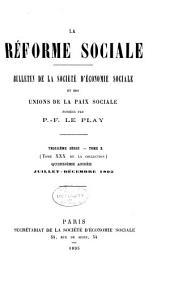 Revue d'ëconomie sociale et rurale: Volume30