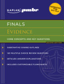 Kaplan PMBR FINALS  Evidence