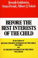 Before the Best Interests of the Child PDF