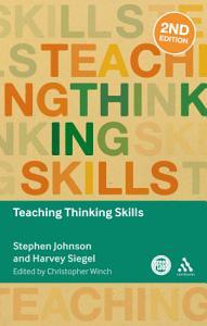 Teaching Thinking Skills