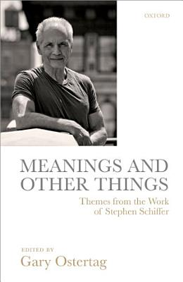 Meanings and Other Things PDF