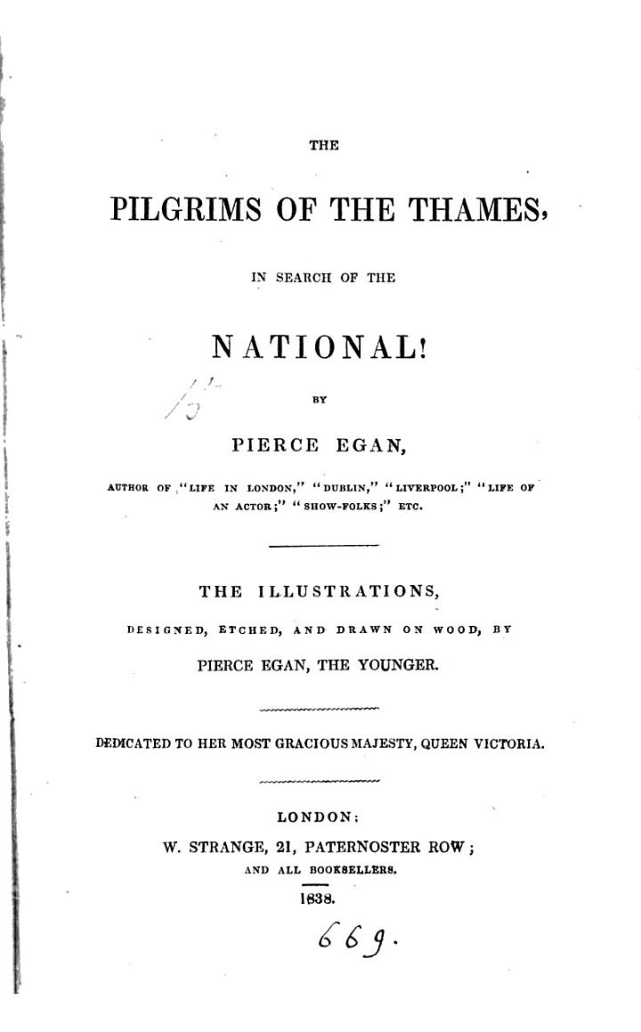 The Pilgrims of the Thames