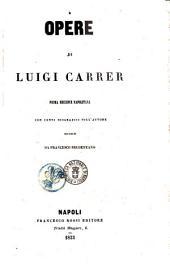 Opere di Luigi Carrer