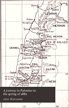 A Journey in Palestine in the Spring of 1882 PDF