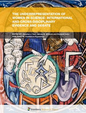 The Underrepresentation of Women in Science  International and Cross Disciplinary Evidence and Debate