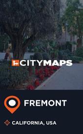 City Maps Fremont California, USA