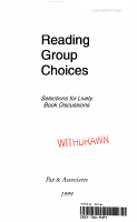 Reading Group Choices 1999 PDF