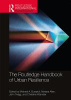 The Routledge Handbook of Urban Resilience PDF