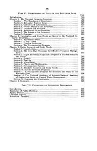 The National Estuarine Pollution Study