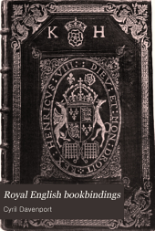 Royal English Bookbindings