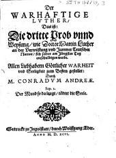 Der warhaftige Luther