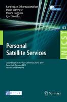 Personal Satellite Services PDF