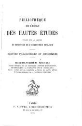 """Études critiques sur les sources de l'histoire mérovingienne: ptie. La compilation dite de """"Frédégaire,"""" par M.G. Monod (texte)"""