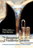 The Management of Foodservice Operations Book