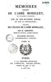 Mémoires inédits sur le dix-huitième siècle et sur la Révolution: Volume1